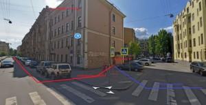 вход в Танго Профи справа с торца, со стороны ул. Благоева